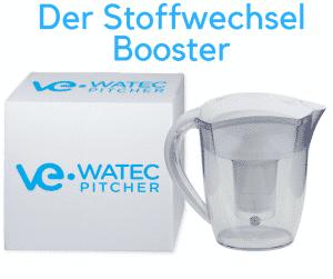 Detox,basisches Wasser und Watec Pitcher