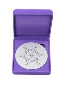 Harmony Disc und Kristalle