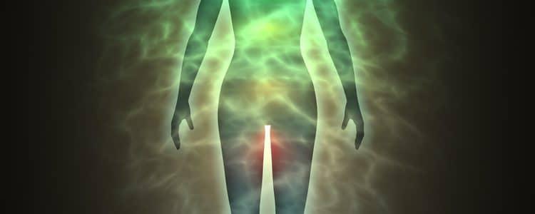 menschliche Aura
