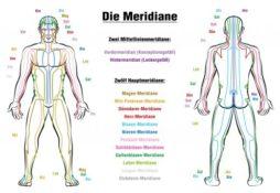 Schmerzen und Meridiane