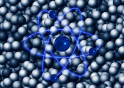Hexagonales Wasser und Mineralien