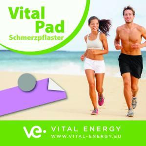 Sportverletzungen und Vital PAD Schmerzpflaster