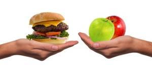 Vollwertkost versus JUNK Food