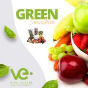 Green Smoothies und hexagonales Basen Wasser